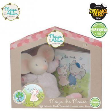 Meiya & Alvin - Deluxe Gift Set Miękka Lalka Gryzaczek z Książeczką Meiya