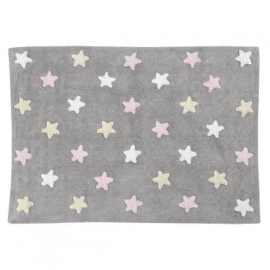 Lorena Canals - Dywan do Prania w Pralce Stars Grey Pink
