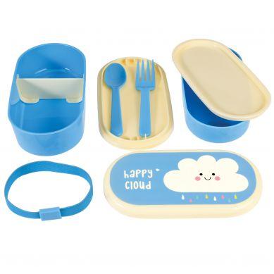 Rex - Dwupoziomowy Lunchbox Happy Cloud