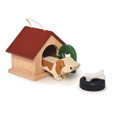 Tender Leaf Toys - Drewniane Figurki do Zabawy Pieski 3+