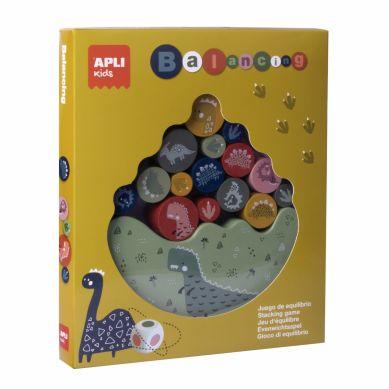 Apli Kids - Gra Zręcznościowa Balansujące Dinozaury 4+
