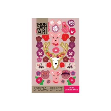 Mon Petit Art - Książeczka z Naklejkami Swing