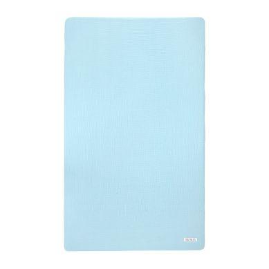 Maki Mon Ami - Pure Double Gauze Prześcieradło 120x60cm Lazurowy Błękit