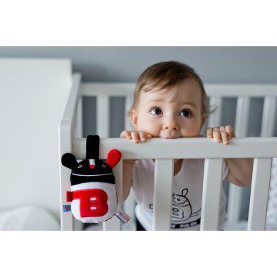 Lullalove - Grzechotka Baby Mr B