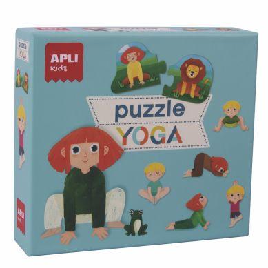 Apli Kids - Puzzle Duo Expressions Yoga 3+