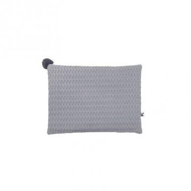 Malomi Kids - Poduszka Waffel 40x30 Grey