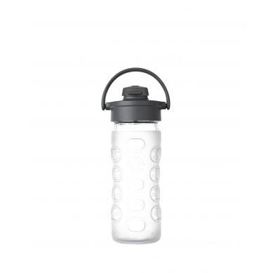 Lifefactory - Butelka Szklana z Ustnikiem 350ml Clear