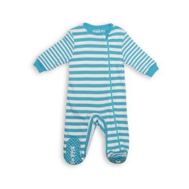 Juddlies - Pajacyk Scuba Blue Stripe 6-12m