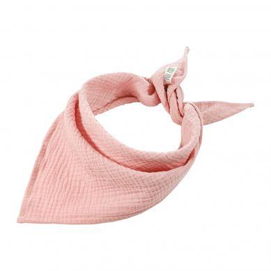 Maki Mon Ami - Pure Double Gauze Bandanka Pudrowy Róż