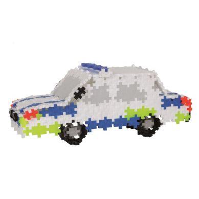 Plus Plus - Klocki Mini Basic 480szt 3w1 Pojazdy Policyjne