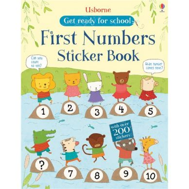 Wydawnictwo Usborne Publishing - First Numbers Get Ready For School