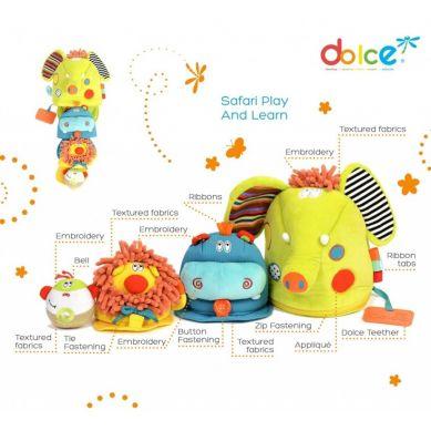 Dolce - Zabawka Sensoryczna Matrioszka Safari