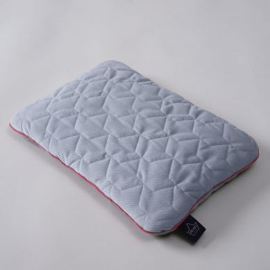 La Millou - Poduszka do Łóżeczka Velvet Collection 30x40 Dark Grey & Pink