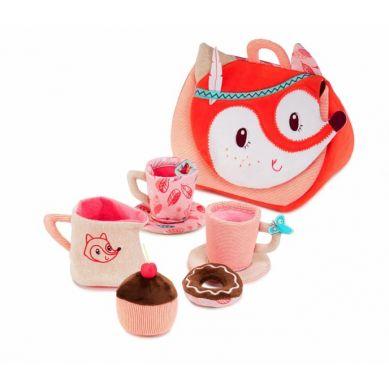 Lilliputiens - Bajkowy Las Lisica Alice Zestaw Tea Time