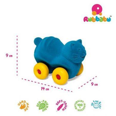 Rubbabu -  Kot Pojazd Sensoryczny Turkusowy