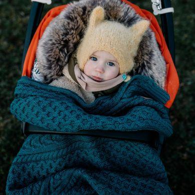 La Millou - Kocyk Merino Wool Blanket Teksas