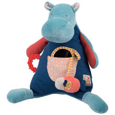 Moulin Roty - Maskkotka Interaktywna Hippo