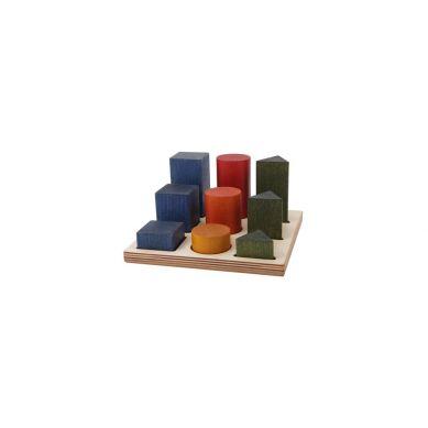 Wooden Story - Sorter Board Kolorwy XL