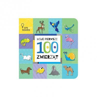 Wydawnictwo Smart Books - Moje Pierwsze 100 Słów Zwierząt