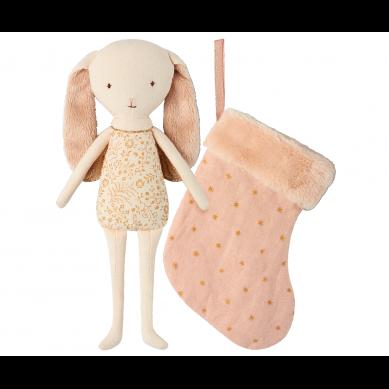 Maileg - Przytulanka Bunny Angel w Skarpecie