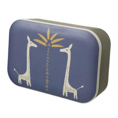 Fresk - Bambusowe Pudełko Śniadaniowe Żyrafa