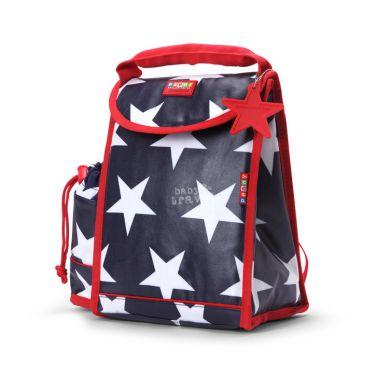 Penny Scallan - Plecak Lunchbox z Osobną Kieszonką na Picie Granatowy w Gwiazdki