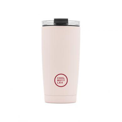 Cool Bottles - Kubek Termiczny 550  ml Triple cool Pastel Pink