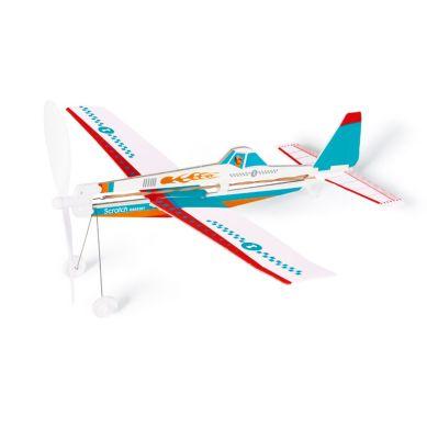 Scratch - Samolot Niebieski