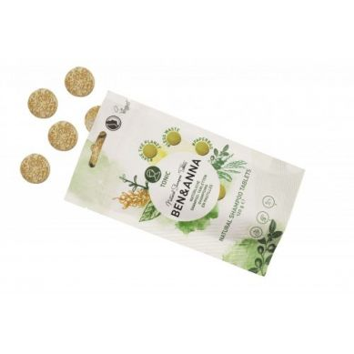 Ben and Anna - Naturalny Szampon w Tabletkach Tonic 120 g