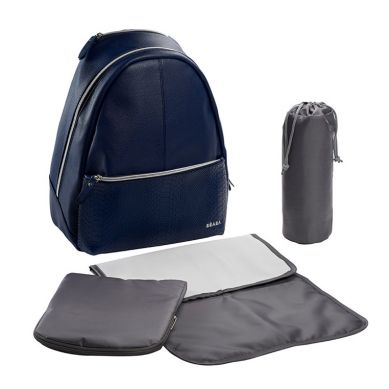 Beaba - Plecak dla Mamy San Francisco Blue/snake