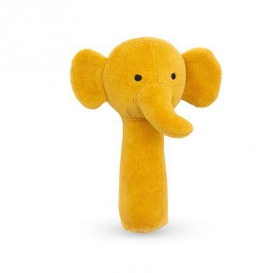 Jollein - Grzechotka Miękka Elephant Mustard