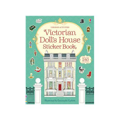 Wydawnictwo Usborne Publishing - Victorian Doll's House Sticker Book