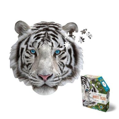 Madd Capp - Puzzle Konturowe I AM Biały Tygrys 300 elem. 10+