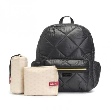 Babymel - Plecak dla Mamy Luna Black Quilt