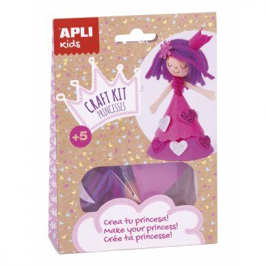 Apli Kids - Zestaw Artystyczny Różowa Księżniczka