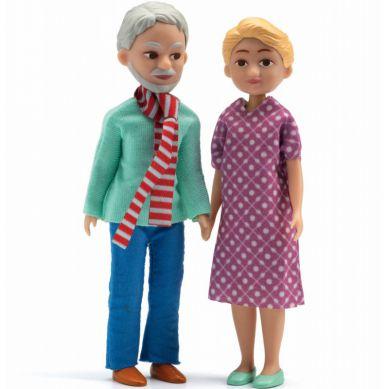 Djeco - Lalki Dziadek i Babcia