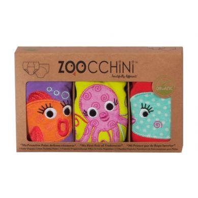 Zoocchini - Majtki Treningowe Girl 3-4 lata Ocean