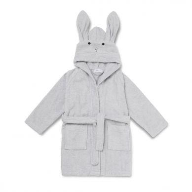 Liewood - Szlafrok dla Dzieci Rabbit Dumbo Grey