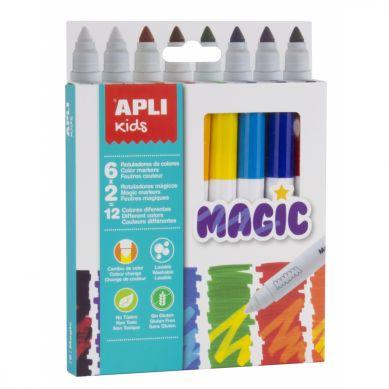 Apli Kids - Magiczne Flamastry 8 kolorów
