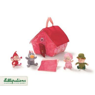 Lilliputiens - Czerwony Kapturek Domek Babci