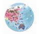 Janod - Puzzle Błękitna Planeta 208 Elementów