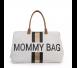 Childhome - Torba Podróżna Mommy Bag Paski Czarno-Złote