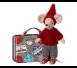 Maileg - Przytulanka Myszka Travel Pixy w Walizeczce