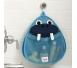 3 Sprouts Pojemnik na Zabawki Kąpielowe Mors
