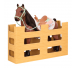 OurGeneration - Duży Koń dla Lalki 46cm Buckskin