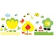 Djeco - Naklejki Dekoracyjne Żółte Kwiaty