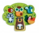Djeco - Drewniano-Filcowe Puzzle Drzewo 1+