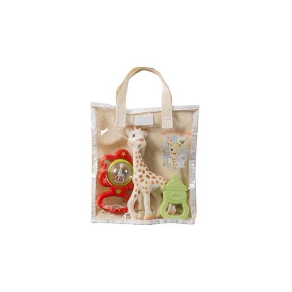 Vulli - Zestaw Żyrafa Sophie Wraz z Grzechotką Kwiatkiem i Gryzakiem