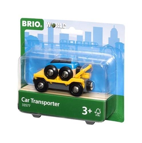BRIO - World Wagon Laweta z Autem