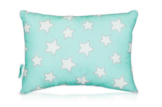 Lamps&co. - Poduszka Grey&Mint Stars 30x30cm
